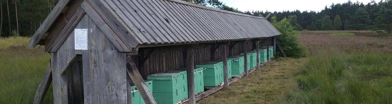 Gebrauchsbelegstelle in der Heide